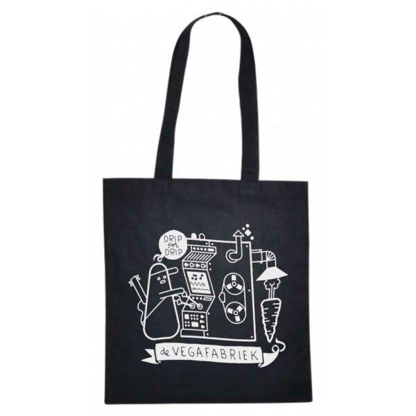 Katoenen tas met illustratie van de Vegafabriek